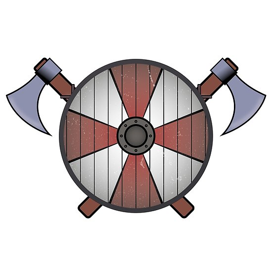poster by soronelite. Clipart shield viking