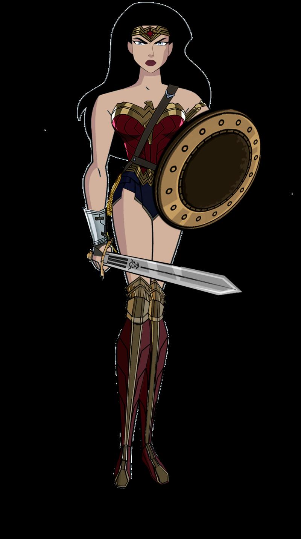 Jl wonder woman dawn. Warrior clipart shield