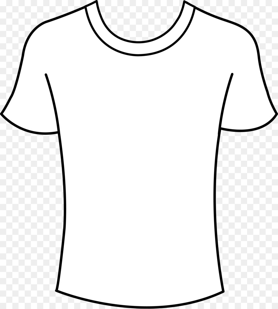Clipart shirt. T template free content