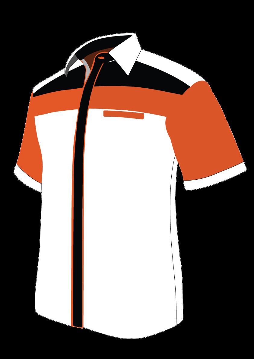 Clipart shirt baju. Custom design rf printing