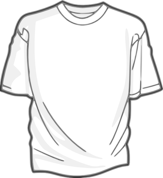Clipart shirt baju. Digitalink blank t clip