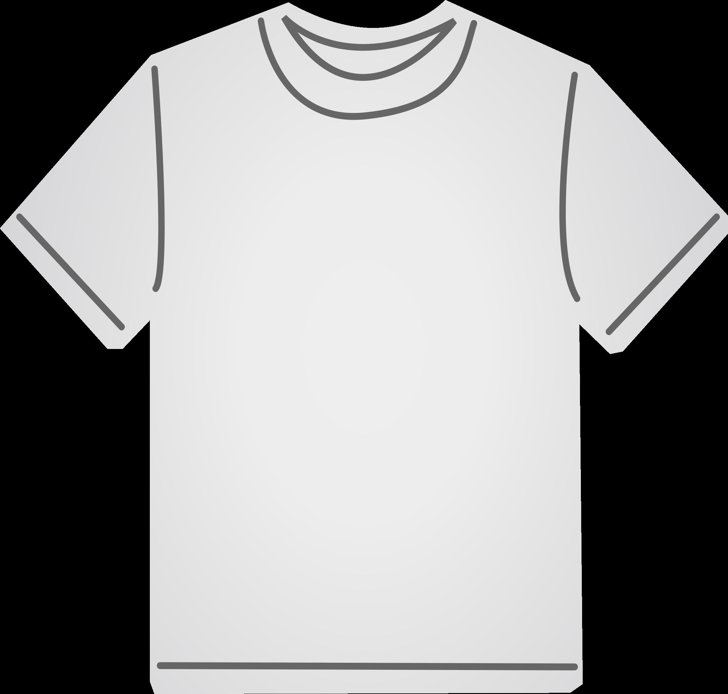 Gold clipart tshirt. T shirt white big