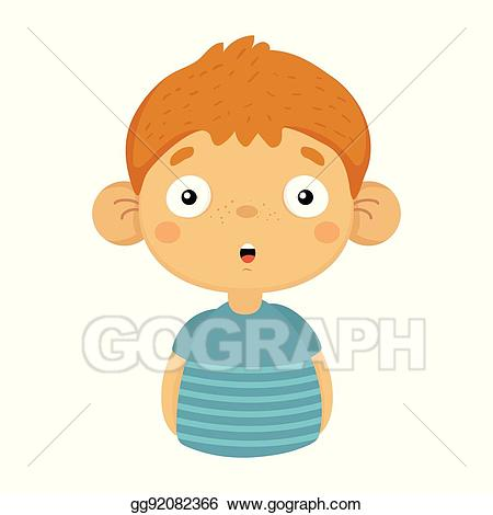 Eps illustration impressed and. Clipart shirt child