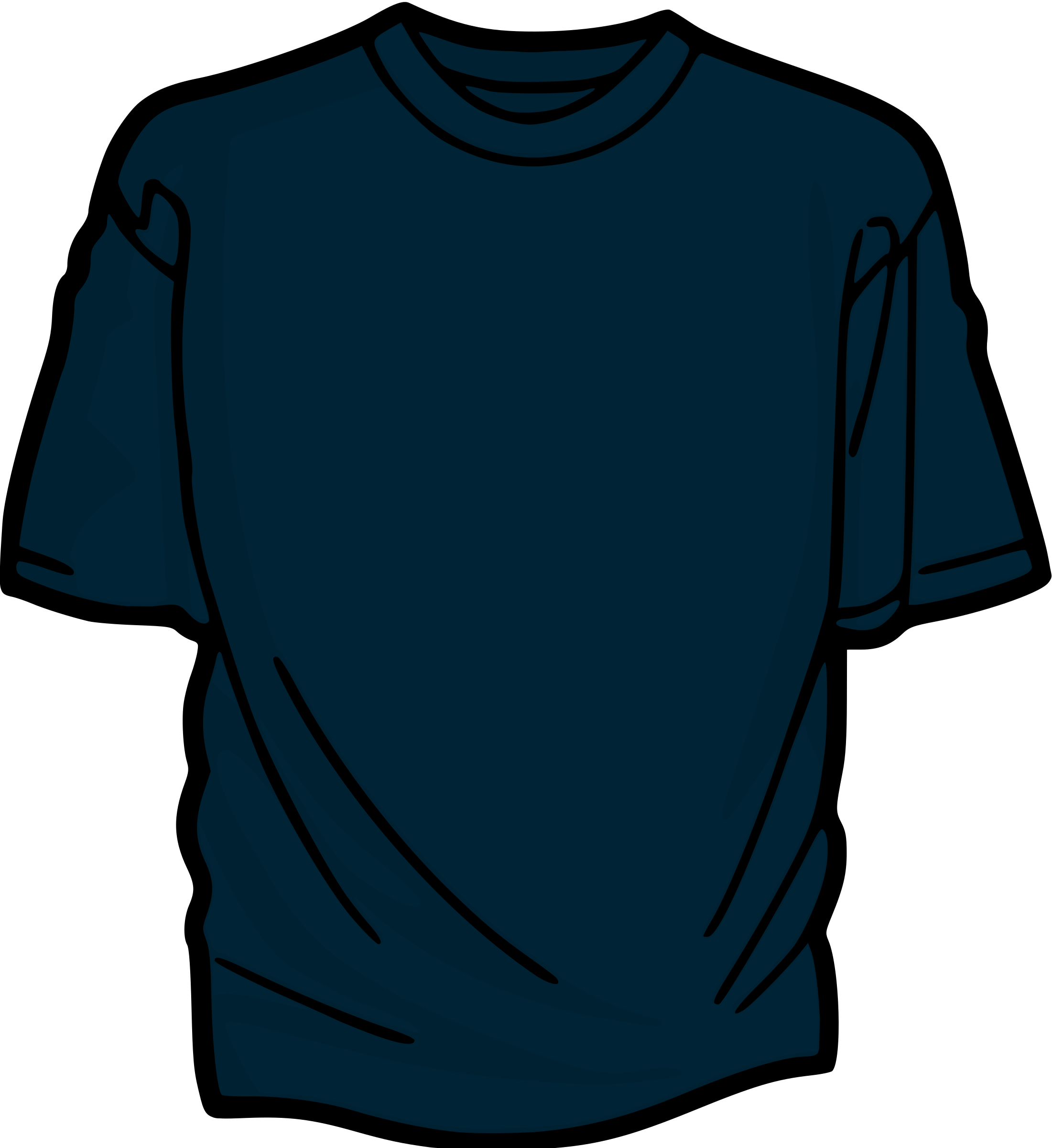 Clipart shirt clothing. Blue t big image