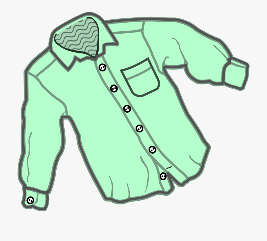 Clipart shirt clothing. T coloring book dress