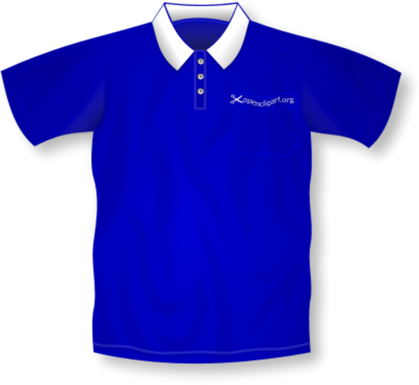 Color clipart blue.  collection of polo