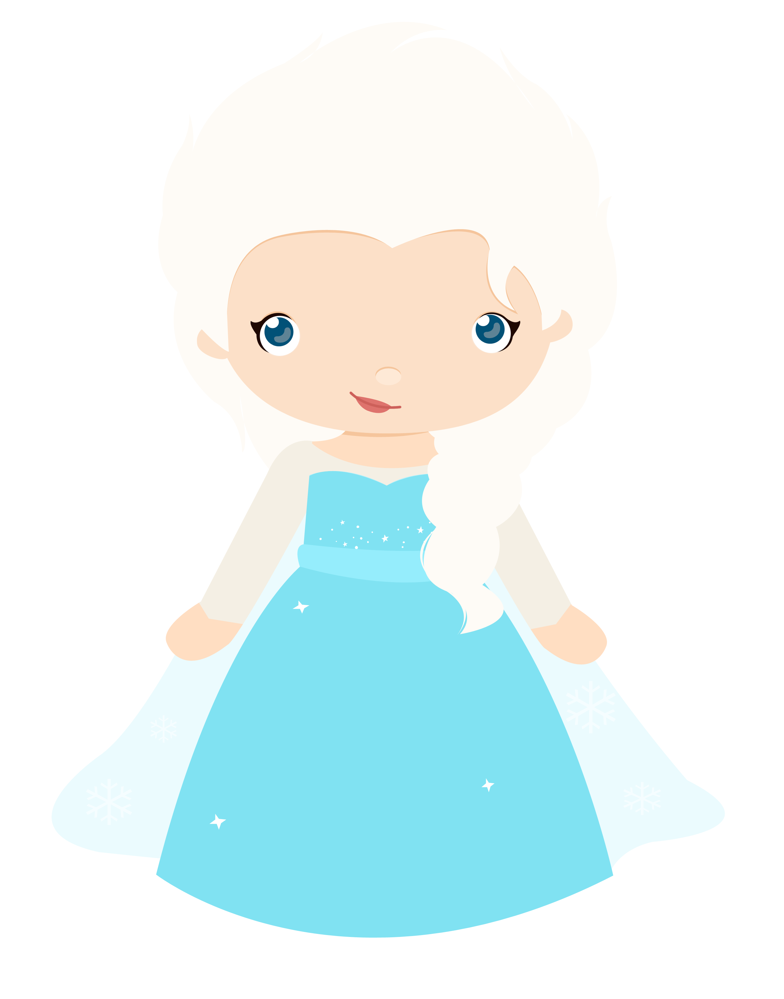 frozen clipart snow