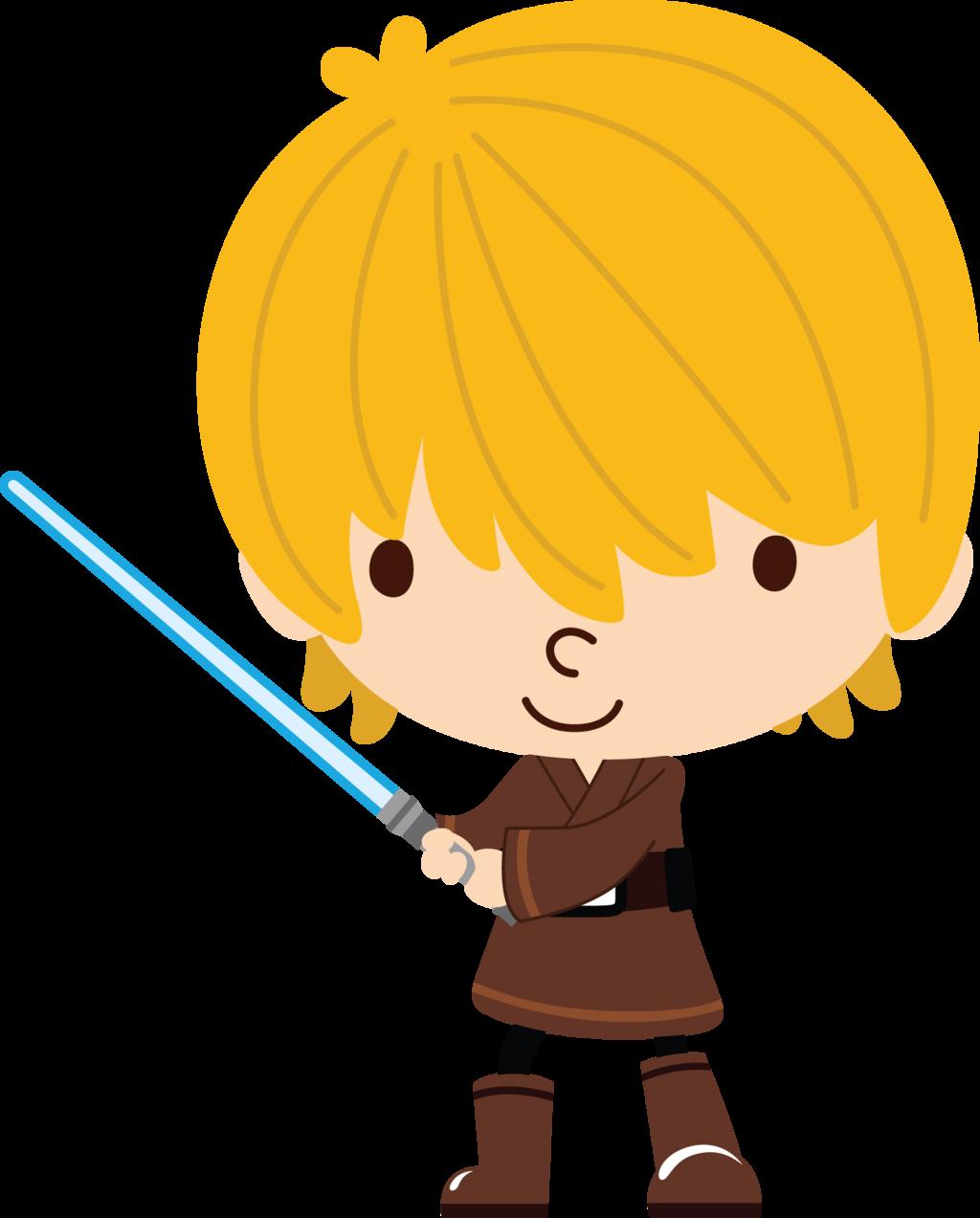 Starwars clipart cp30. Luke skywalker cute skywalking
