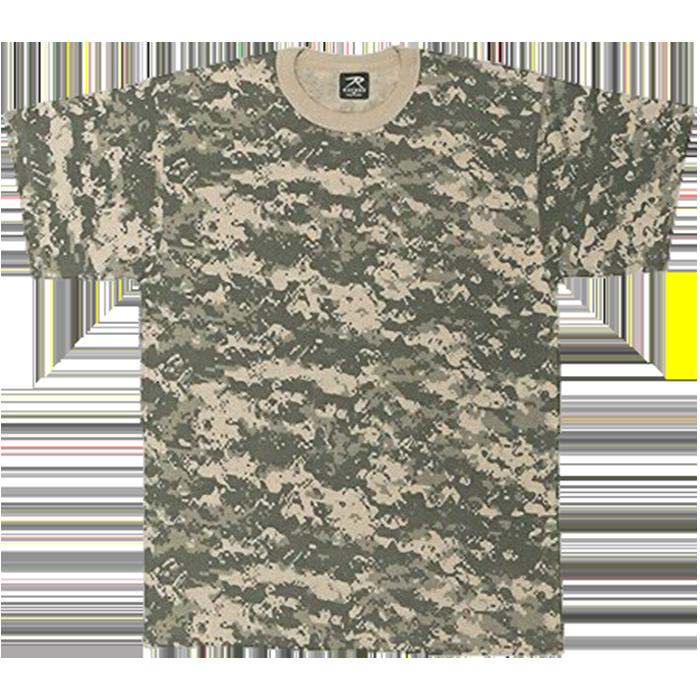Custom adult camouflage tees. Shirts clipart folded shirt