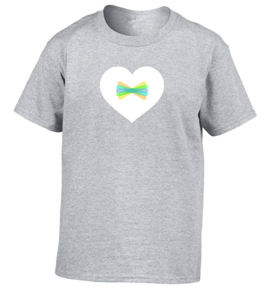 Clipart shirt gray shirt. Seesaw heart youth the