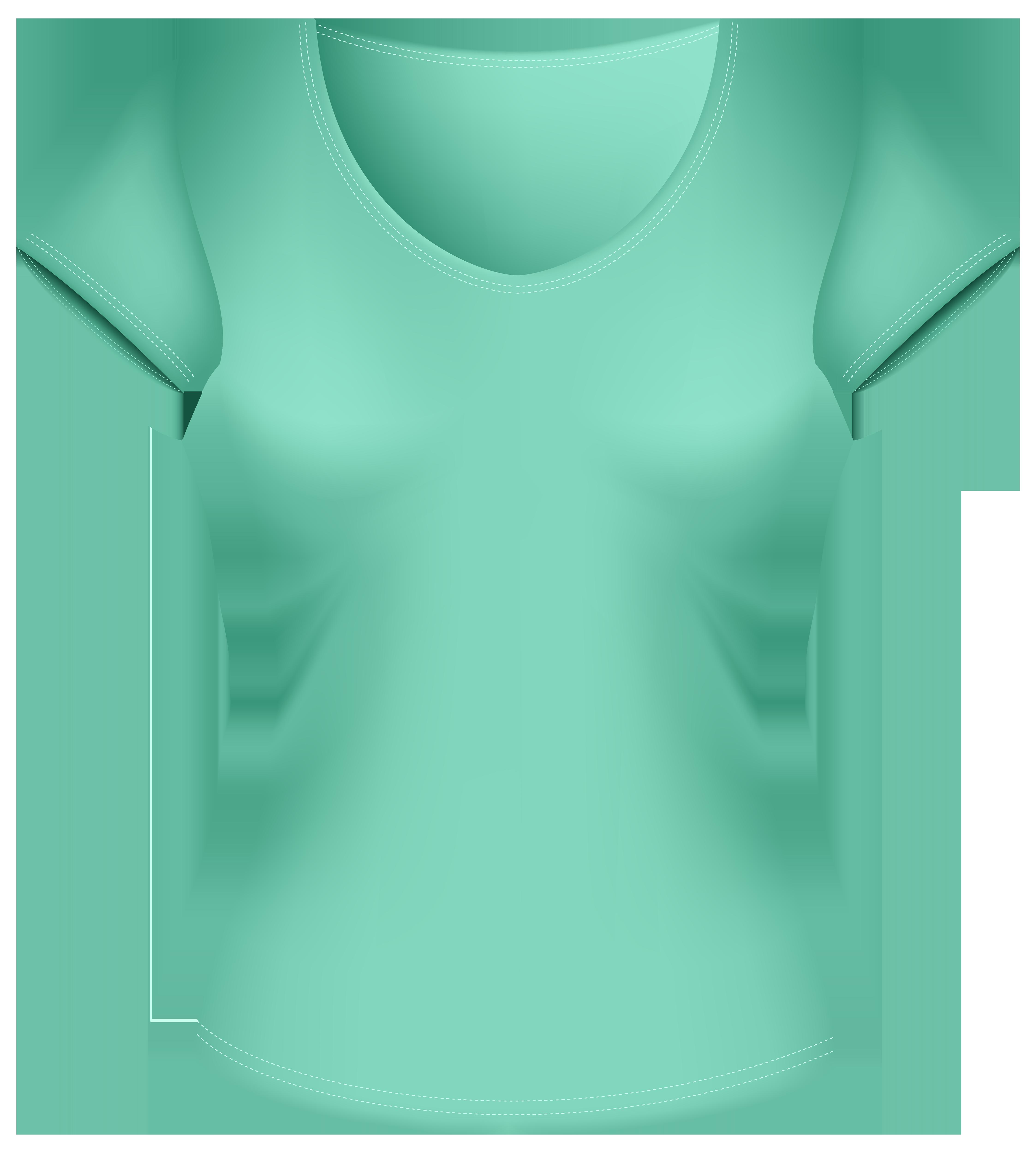 Female png best web. Clipart shirt green shirt