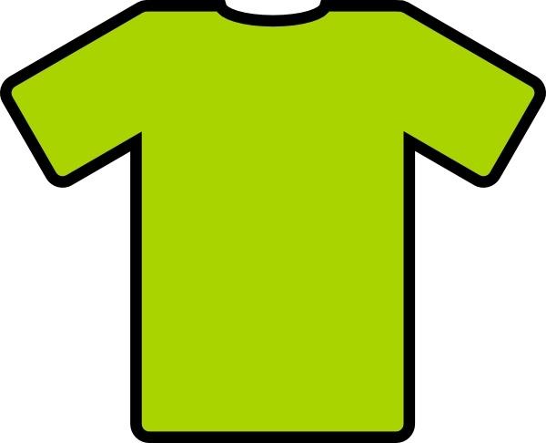 Clipart shirt green shirt. T clip art free