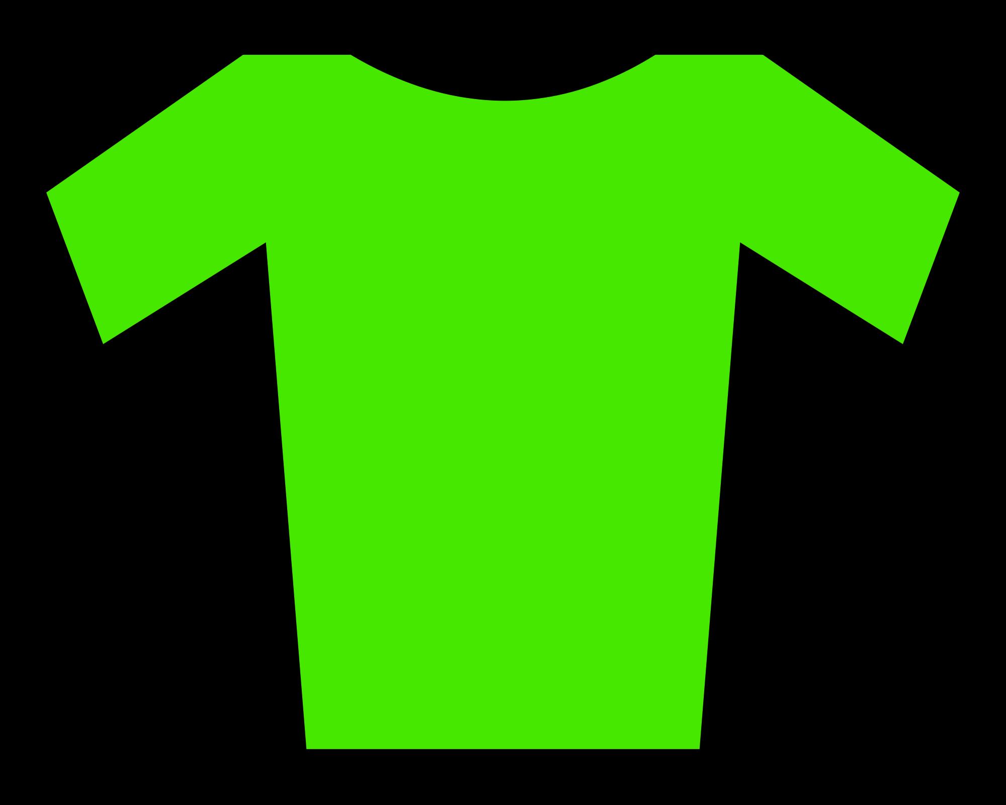 File jersey svg wikimedia. Clipart shirt green shirt