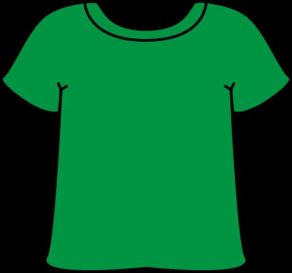 Clipart shirt green shirt. Tshirt clip art t