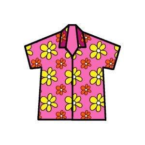 People day mens tops. Clipart shirt hawaiian outfit