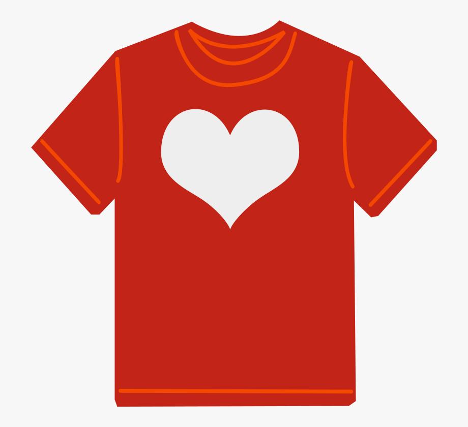 Free red t kids. Clipart shirt kid shirt