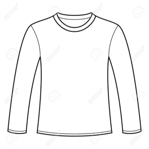 Clipart shirt long sleeve shirt. T free images at