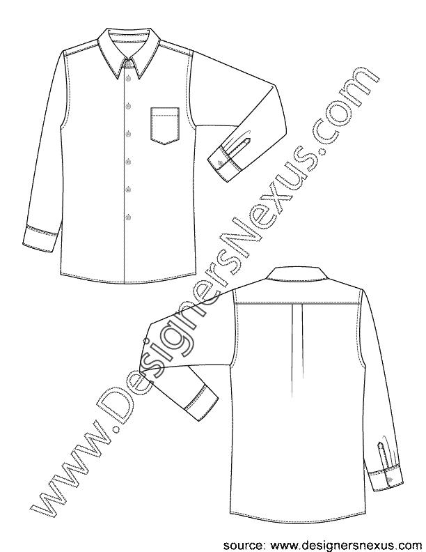 Classic dress v fashion. Clipart shirt mens shirt