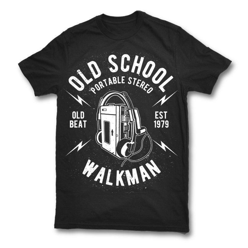 Shirts clipart old tshirt. School walkman t general