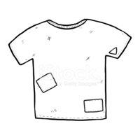 T shirt stock vectors. Shirts clipart old tshirt