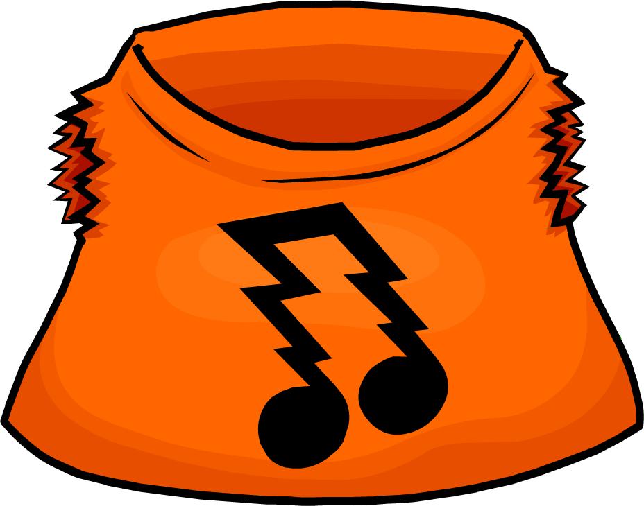 Rocker club penguin wiki. Clipart shirt orange shirt
