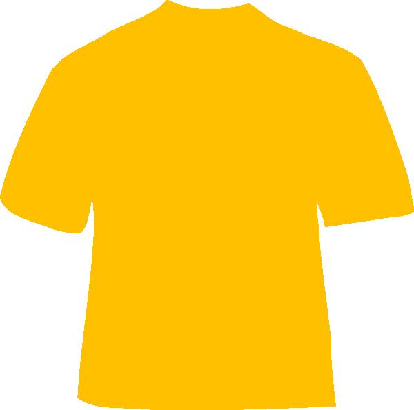 Clipart shirt orange shirt. Gold clip art at
