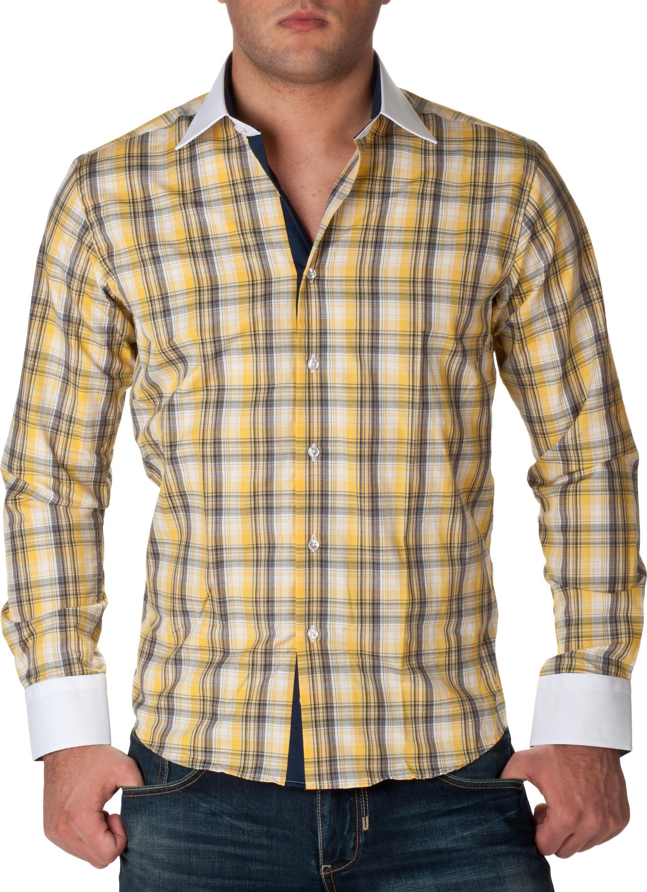 Clipart shirt plaid shirt. Check full dress yellow