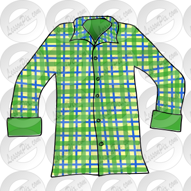 Picture for classroom therapy. Clipart shirt plaid shirt