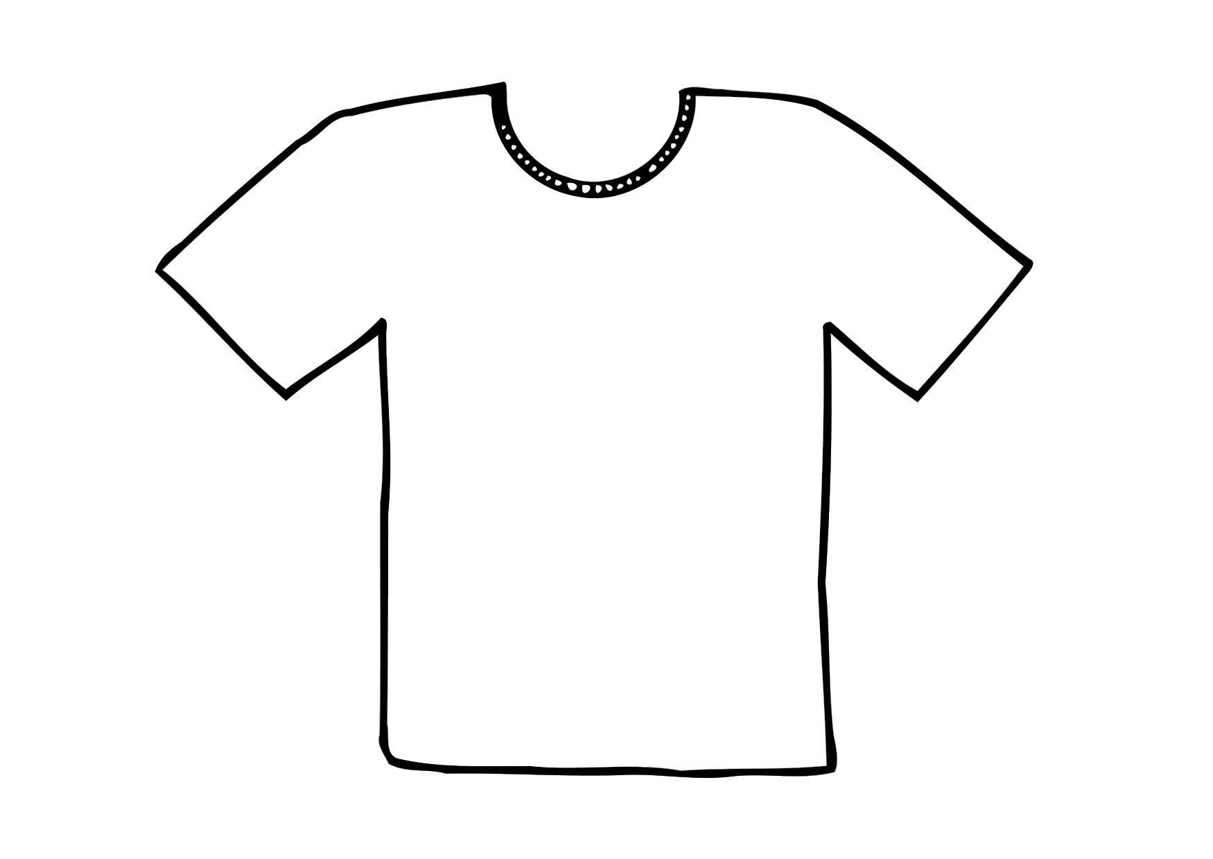 T template free download. Clipart shirt printable