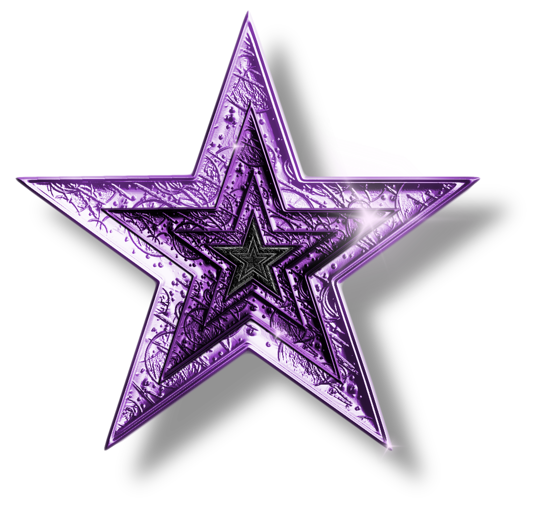 Purple star png by. Clipart stars glitter