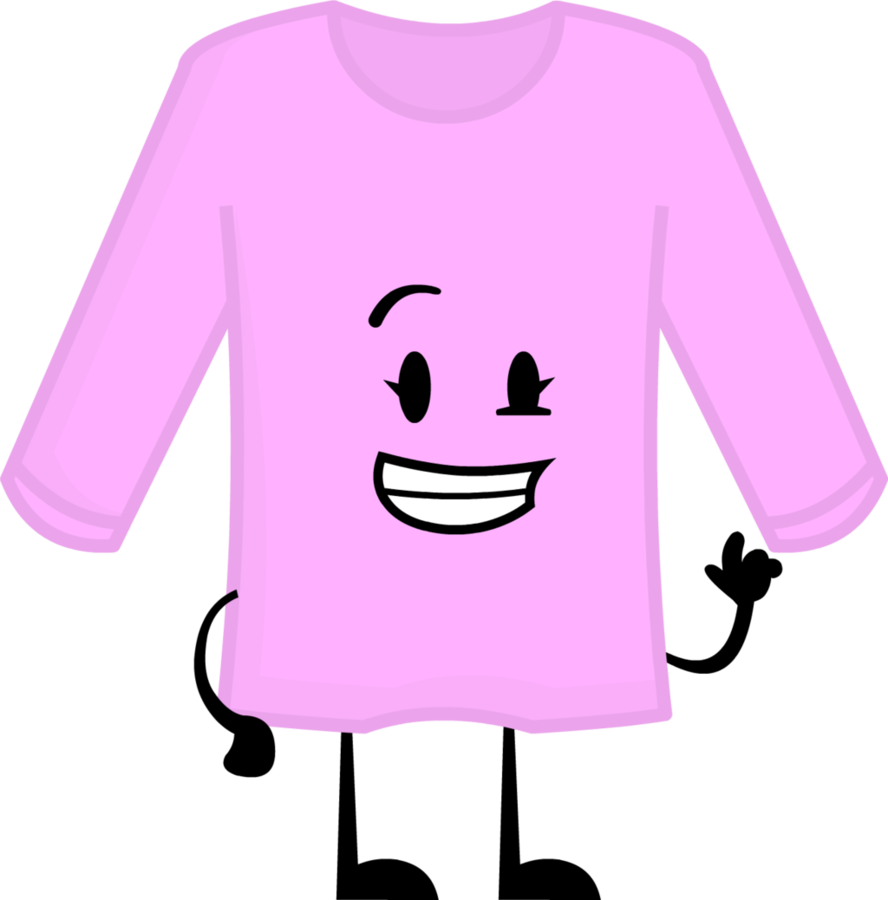 Anthropomorphic insanity by ultraboldore. Clipart shirt purple object