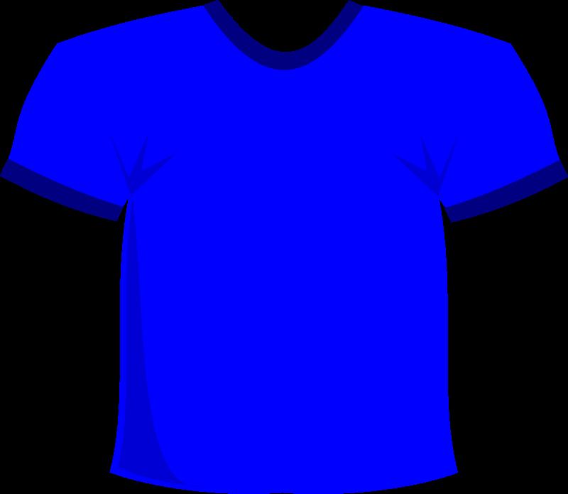 T blue medium image. Clipart shirt purple object