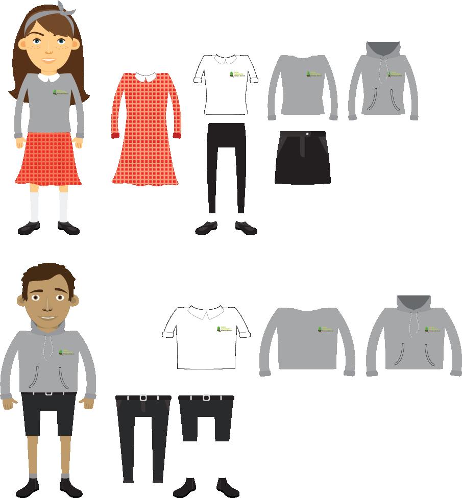 Clipart shirt school shirt. Uniforms caton community primary