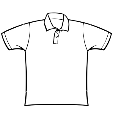 t black and. Clipart shirt shirt line