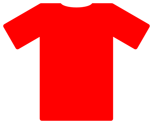 Free soccer shirts cliparts. Jersey clipart red jersey