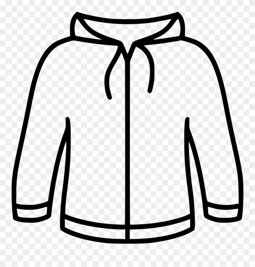 Image free download sweatshirt. Hoodie clipart black and white