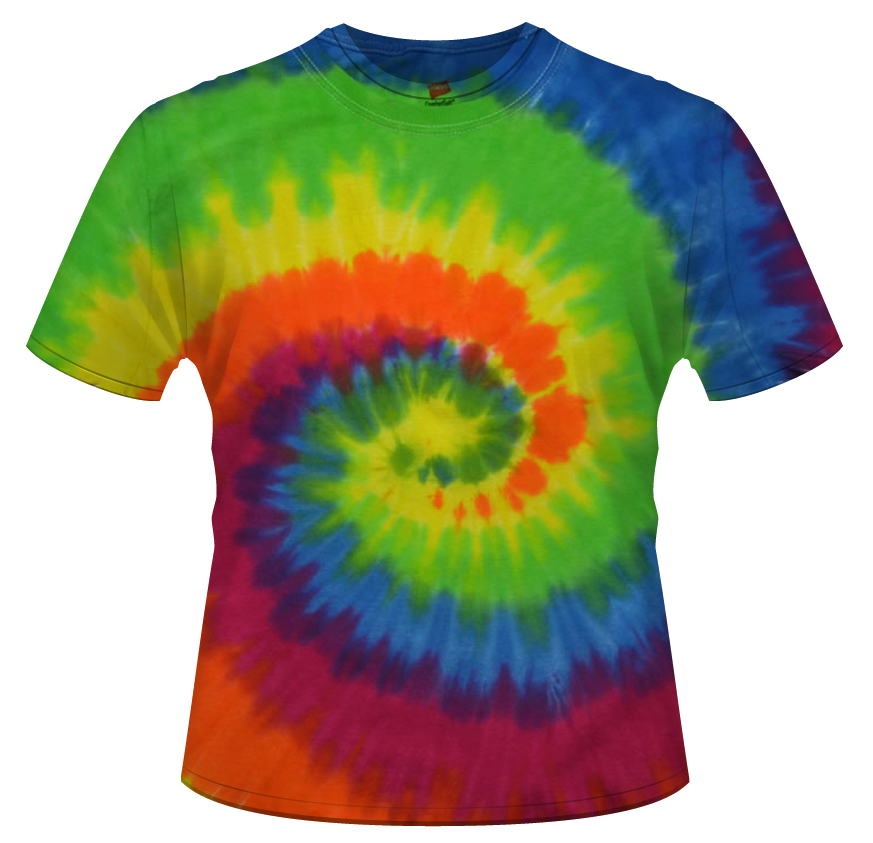Clipart shirt tie dye shirt.  t fashion clothing