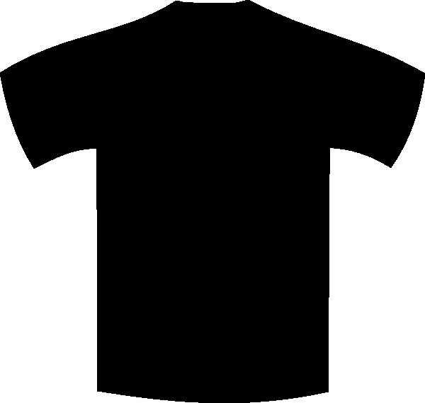 Clipart shirt uniform. Plain black clip art