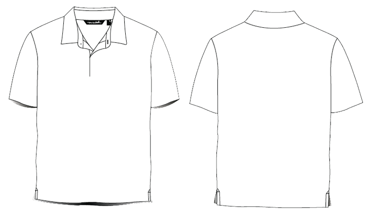 Polo. Clipart shirt uniform