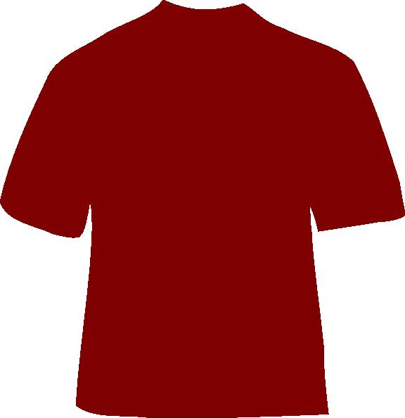 Maroon t clip art. Clipart shirt vector