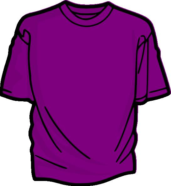 Purple t clip art. Clipart shirt violet