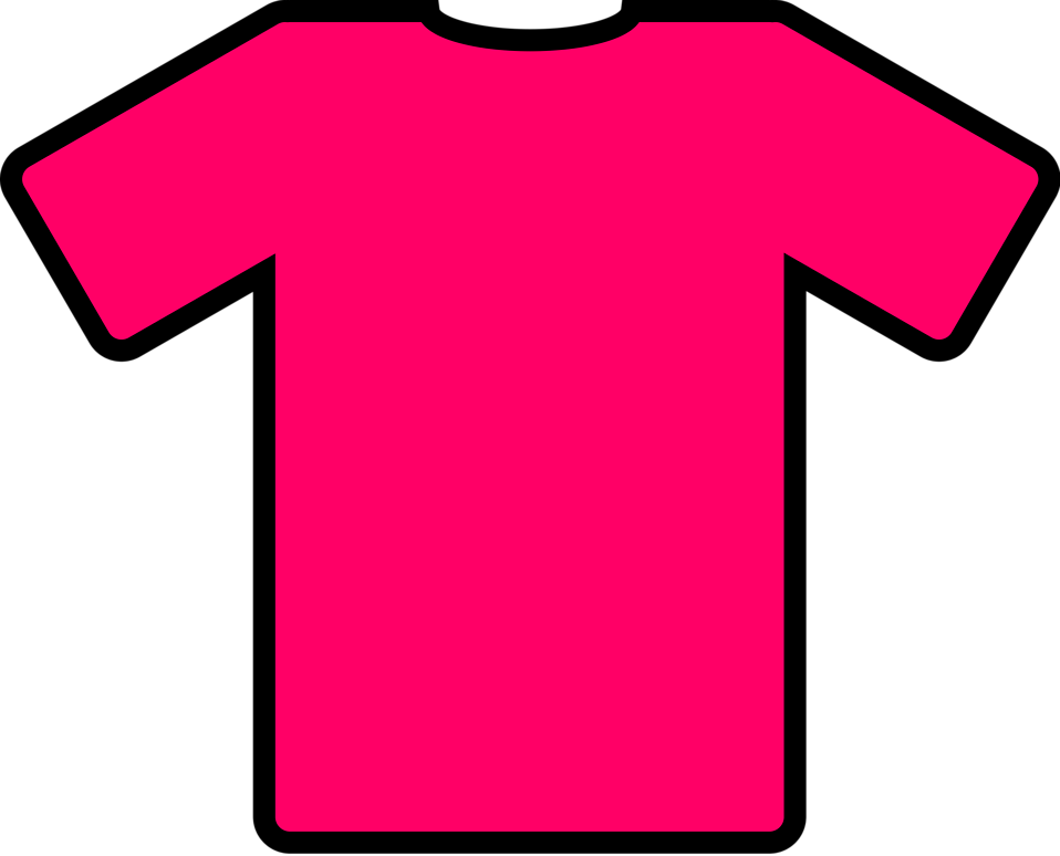 Free stock photo illustration. Clipart shirt woman shirt