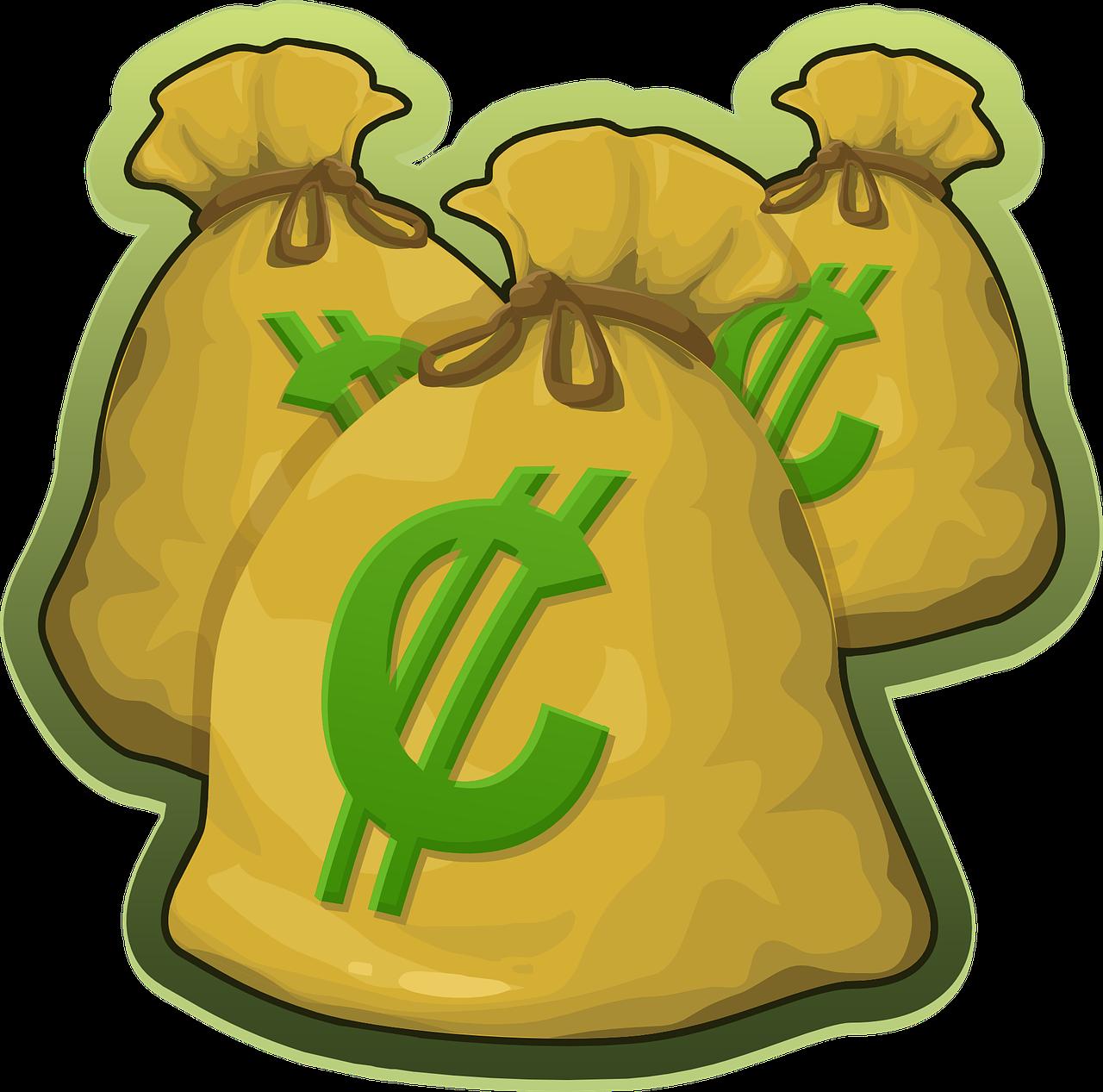 Clipart shirt yellow bag. Money t clip art