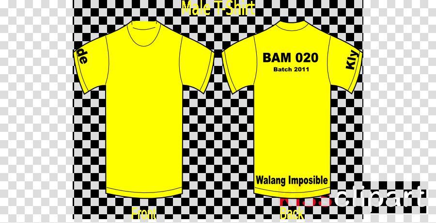 Clipart shirt yellow bag. Background tshirt clothing