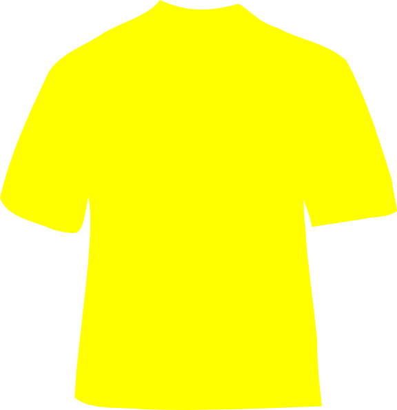 Clipart shirt yellow bag. T clip art at