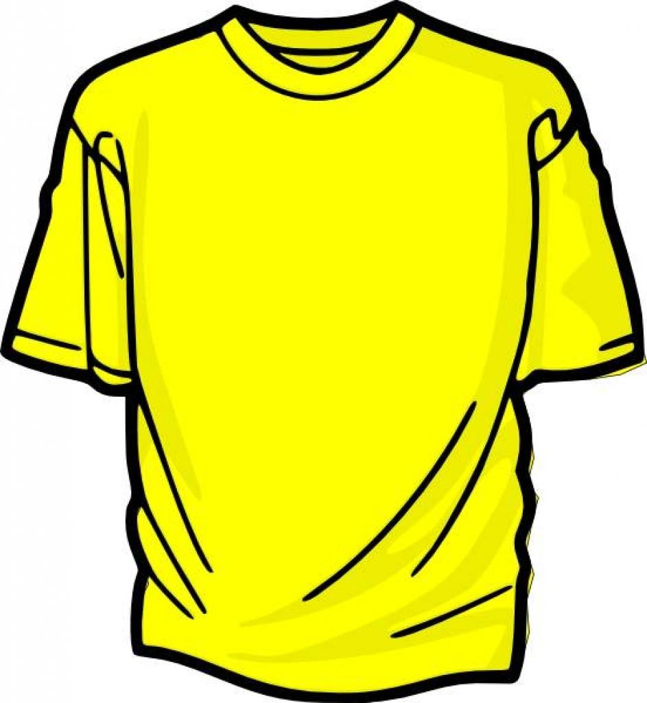 Free cliparts download clip. Clipart shirt yellow shirt