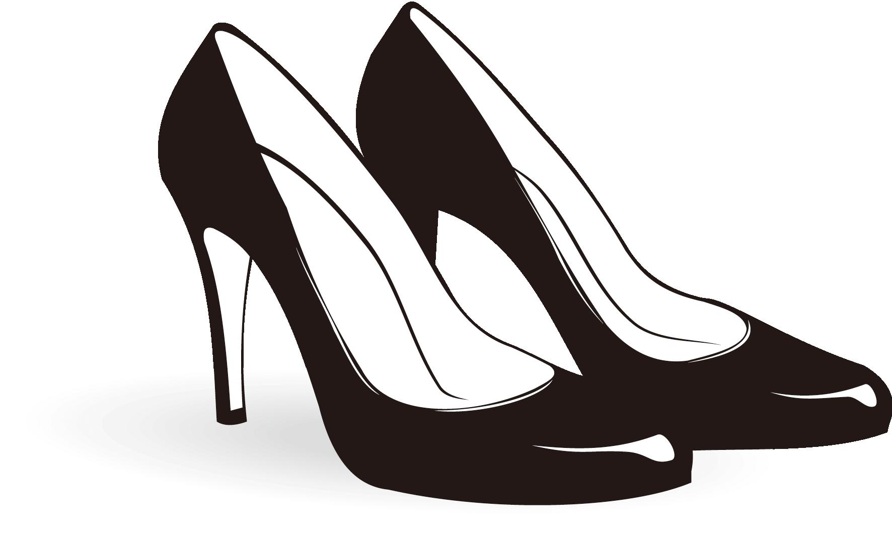 Heels clipart logo. Shoe high heeled footwear