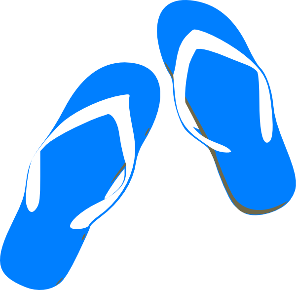 Converse clipart blue clipart. Flip flops clip art