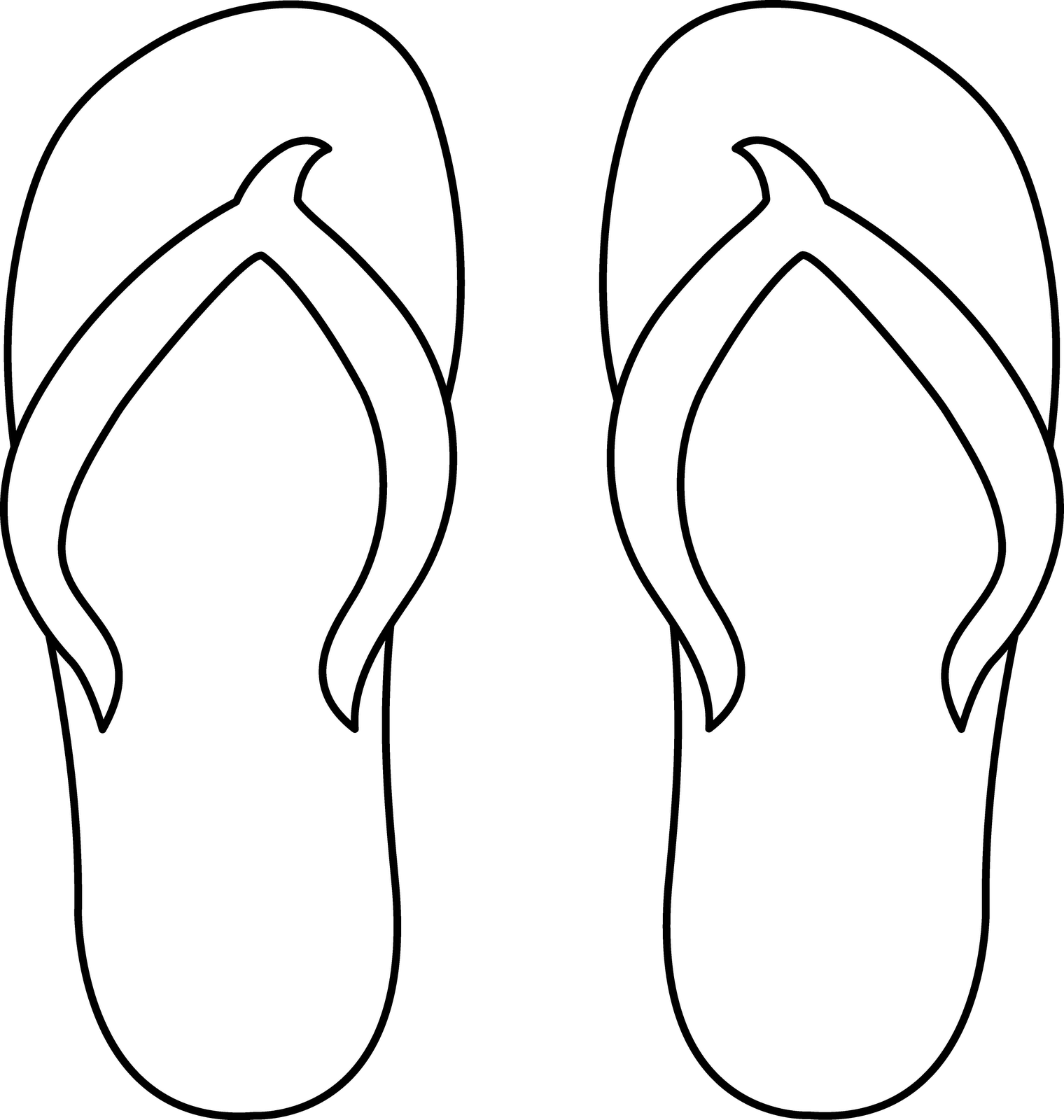Clipart shoes chappal. Flip flop silhouette at
