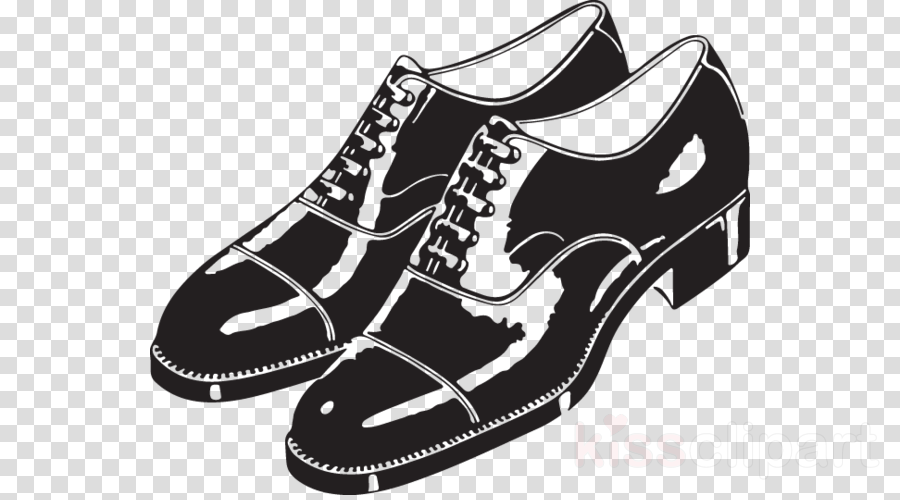 White background clothing illustration. Clipart shoes clothes